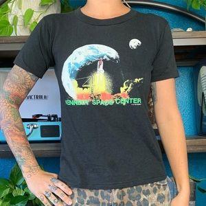 Vintage 1989 single stitch Kennedy Space tee